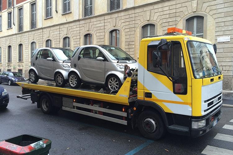 servizio trasporto auto milano
